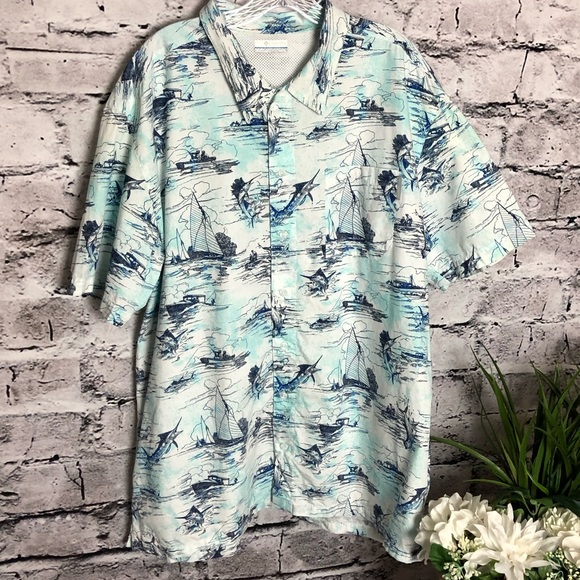 Columbia Other - Columbia  Sportswear PFG Mens Fishing shirt. SZ XL